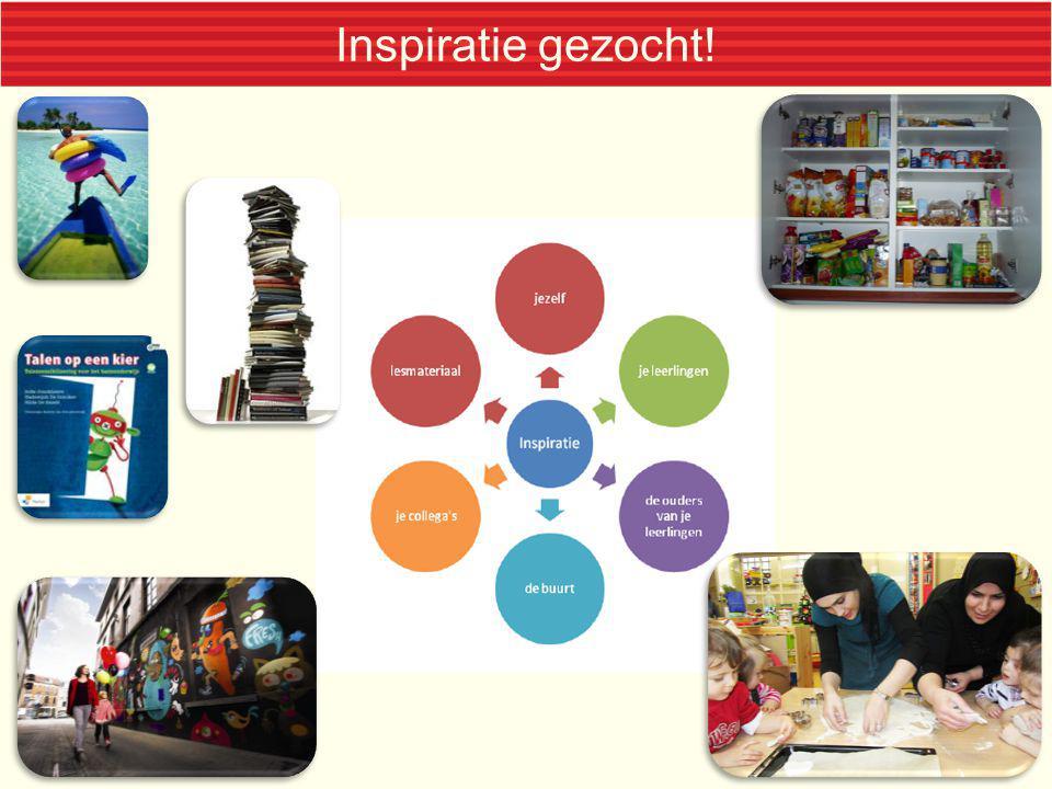 Inspiratie gezocht! Minder voor de hand liggende inspiratiebronnen: