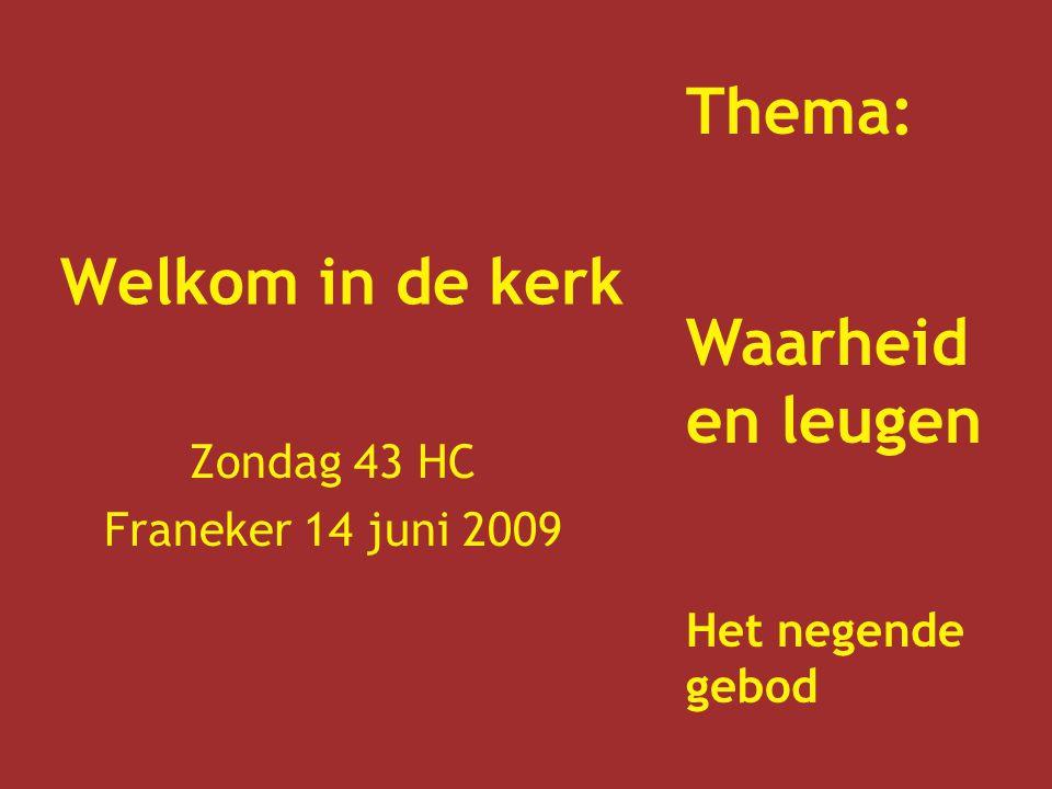 Zondag 43 HC Franeker 14 juni 2009