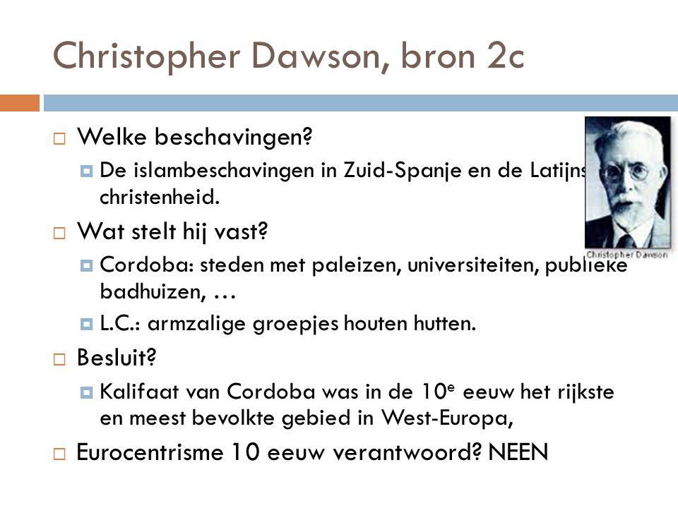Christopher Dawson, bron 2c
