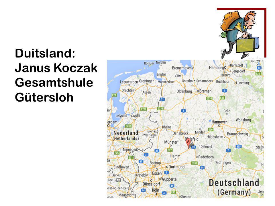 Duitsland: Janus Koczak Gesamtshule Gütersloh
