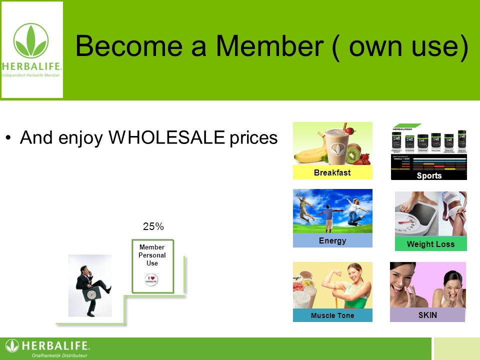 Become a Member ( own use)