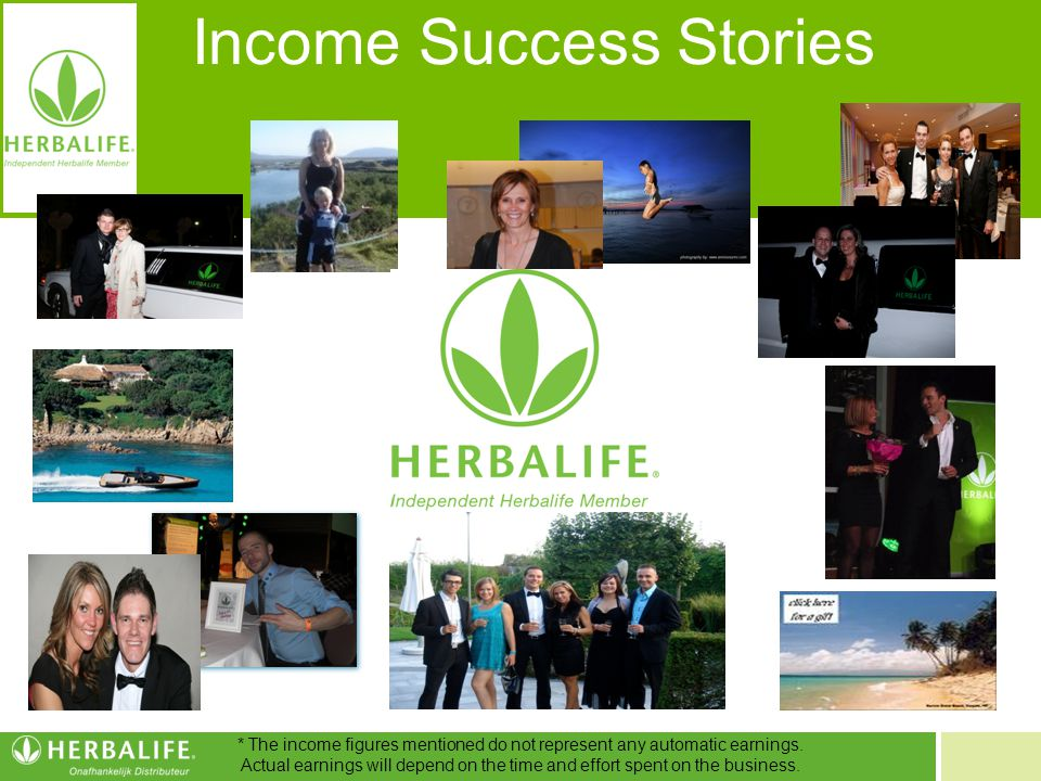 Income Success Stories