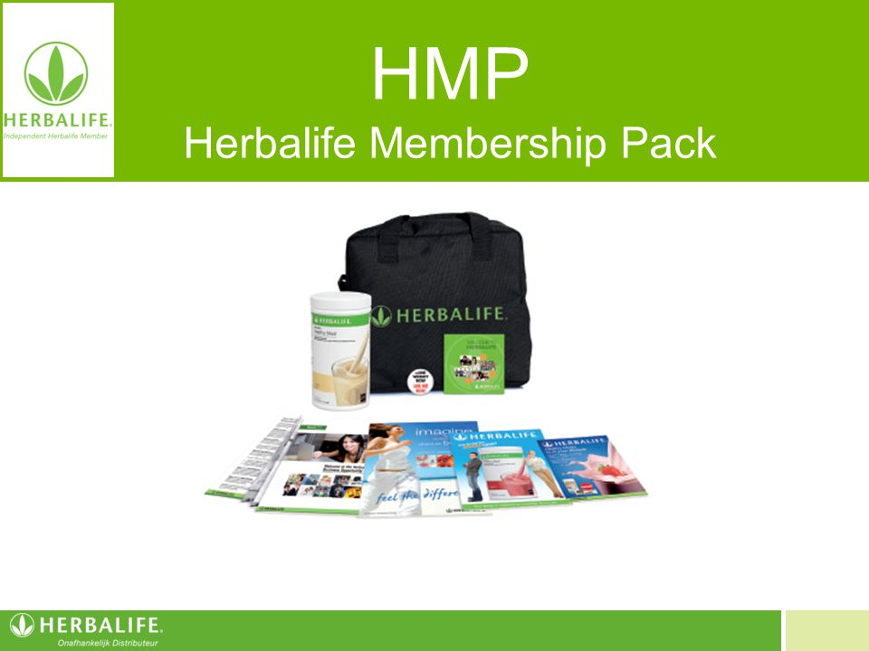 HMP Herbalife Membership Pack