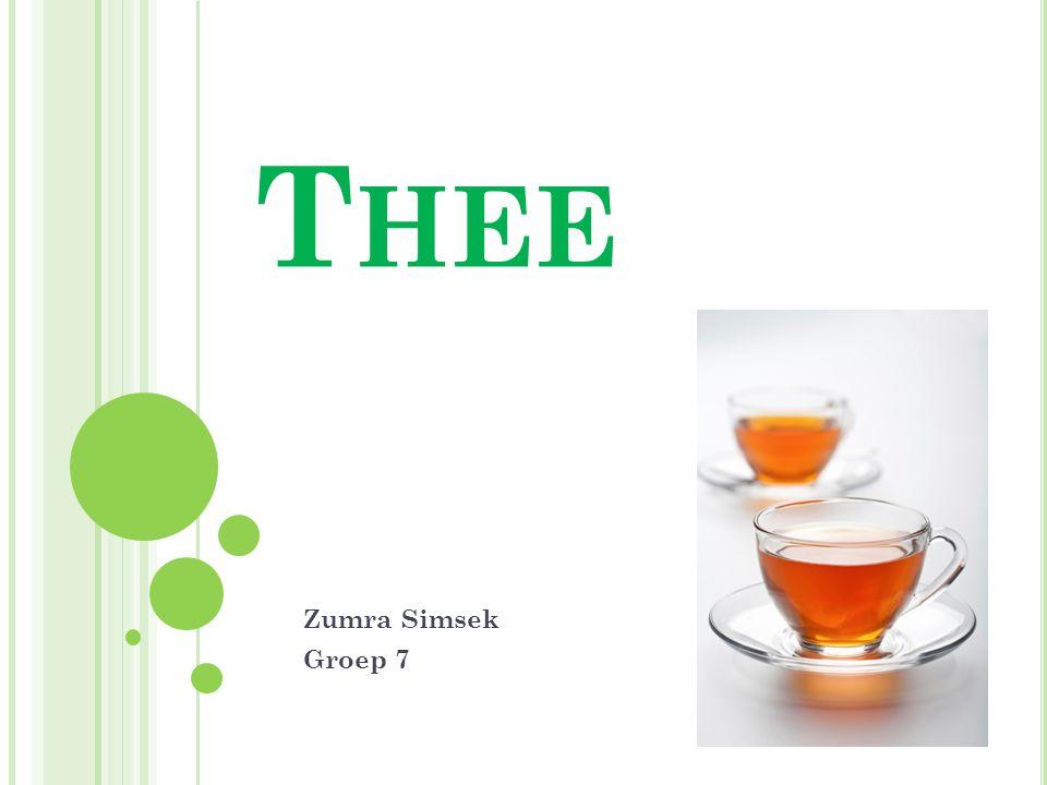 Thee Zumra Simsek Groep 7