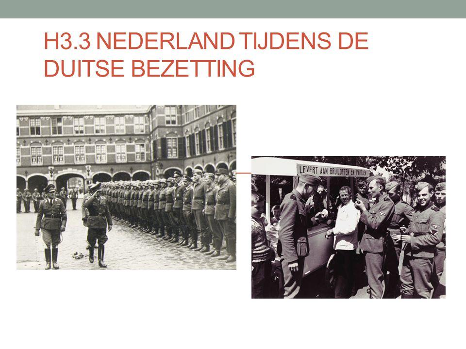 H3.3 Nederland tijdens de Duitse bezetting