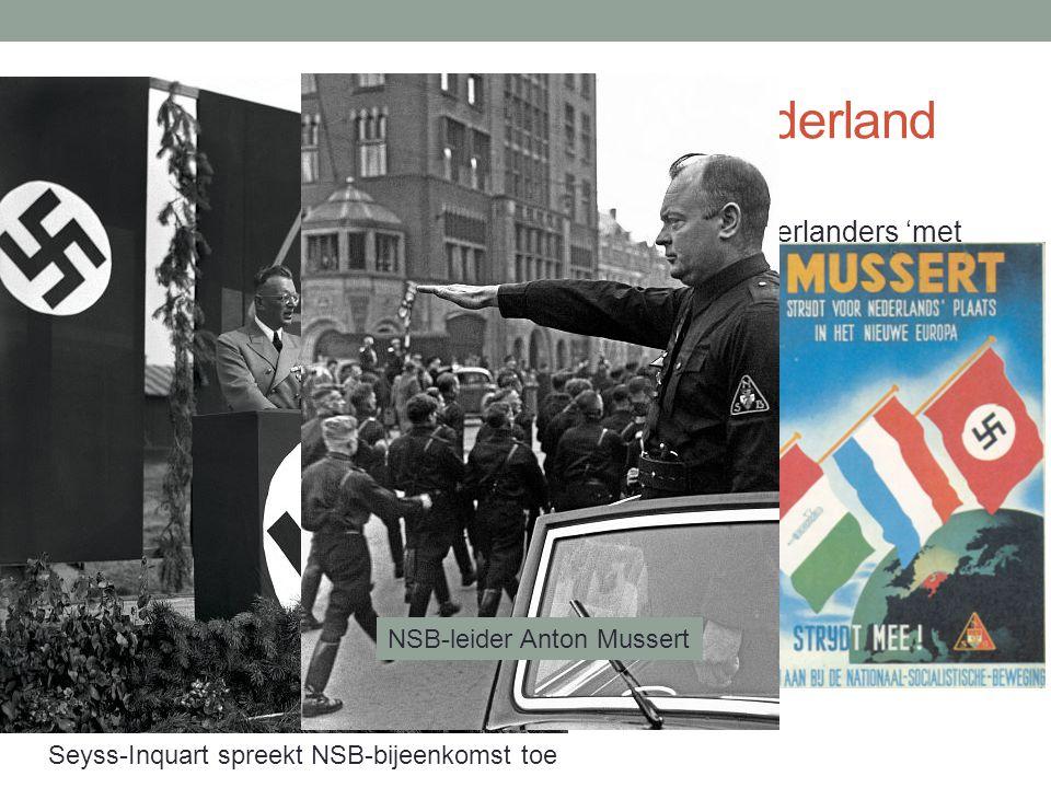 Verloop Duitse bezetting van Nederland