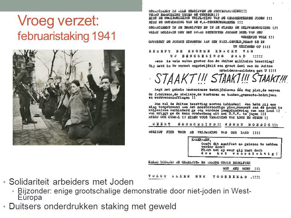 Vroeg verzet: februaristaking 1941