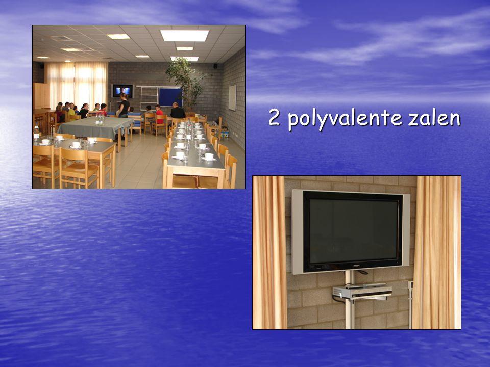 2 polyvalente zalen