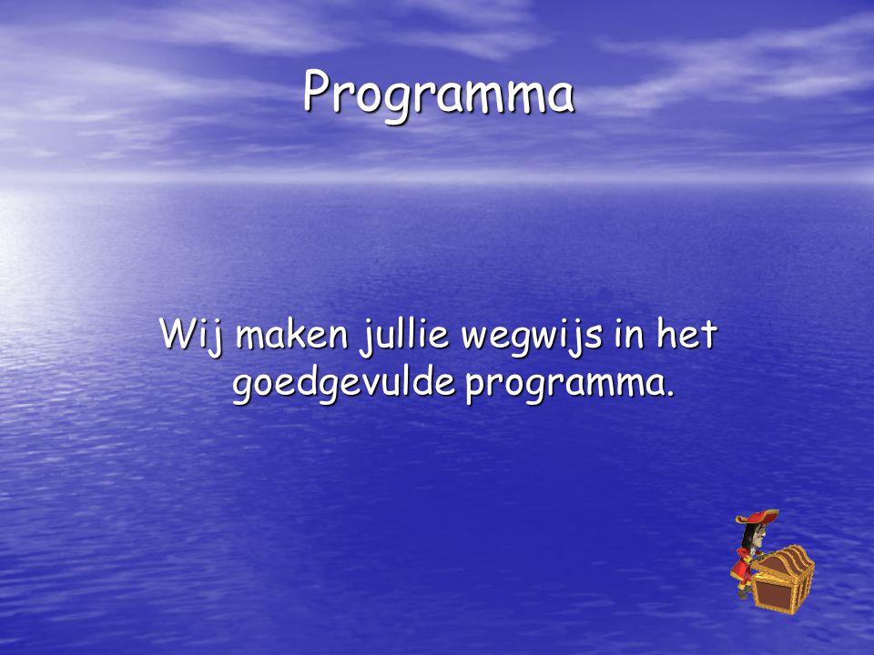 Wij maken jullie wegwijs in het goedgevulde programma.