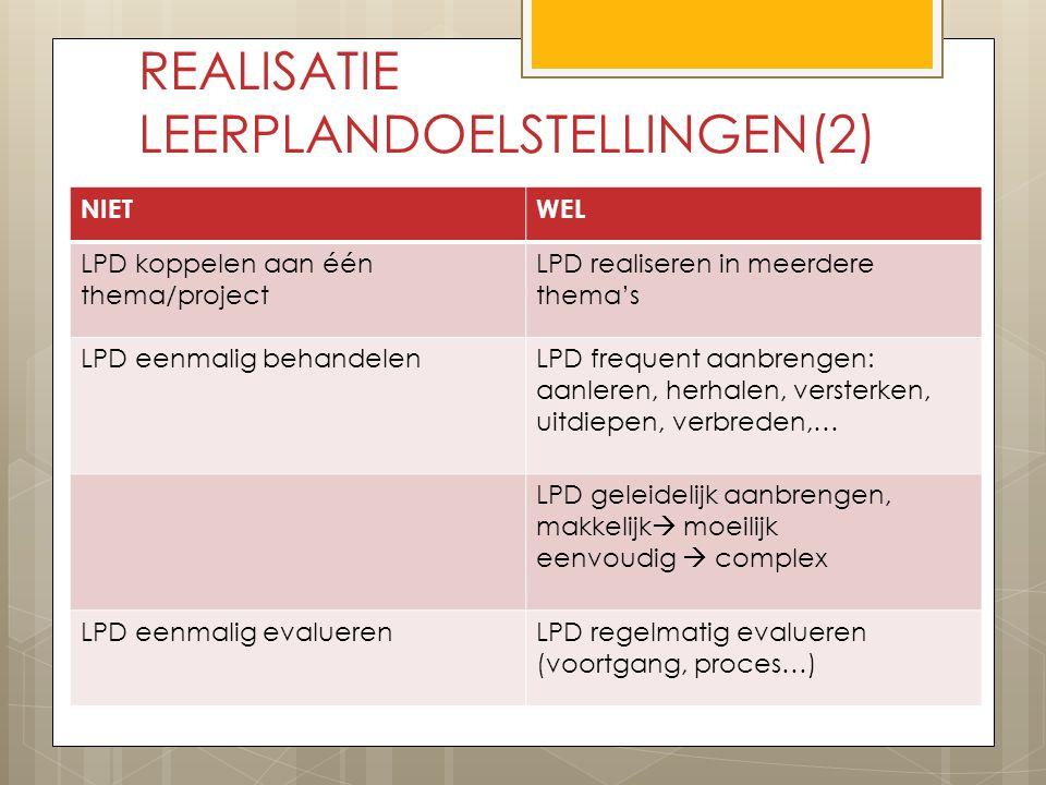 REALISATIE LEERPLANDOELSTELLINGEN(2)