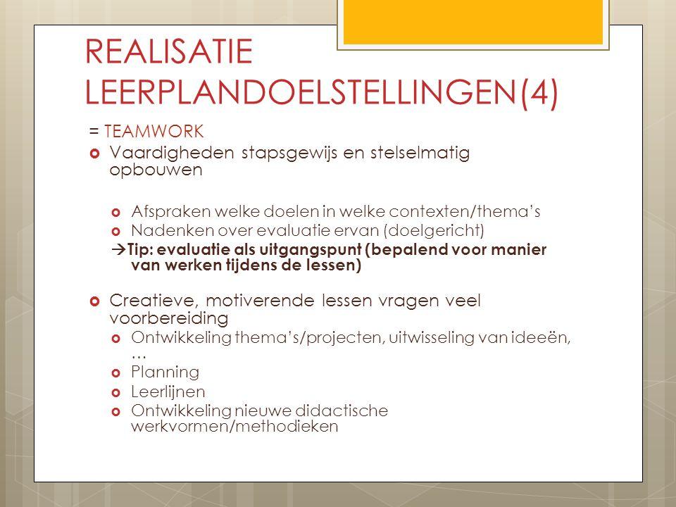REALISATIE LEERPLANDOELSTELLINGEN(4)