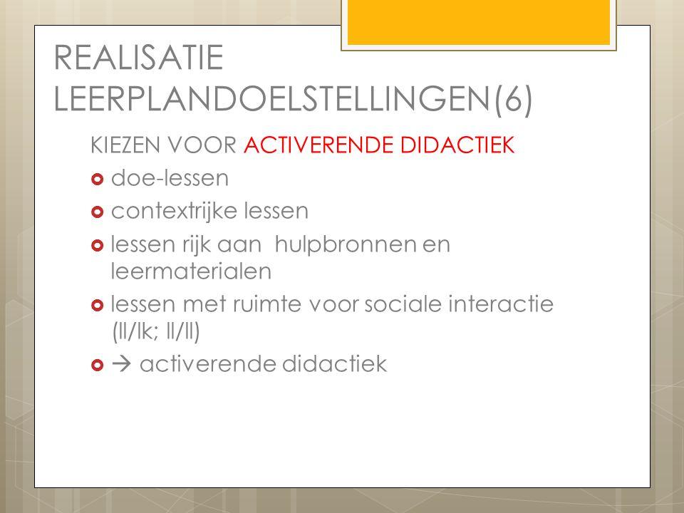 REALISATIE LEERPLANDOELSTELLINGEN(6)