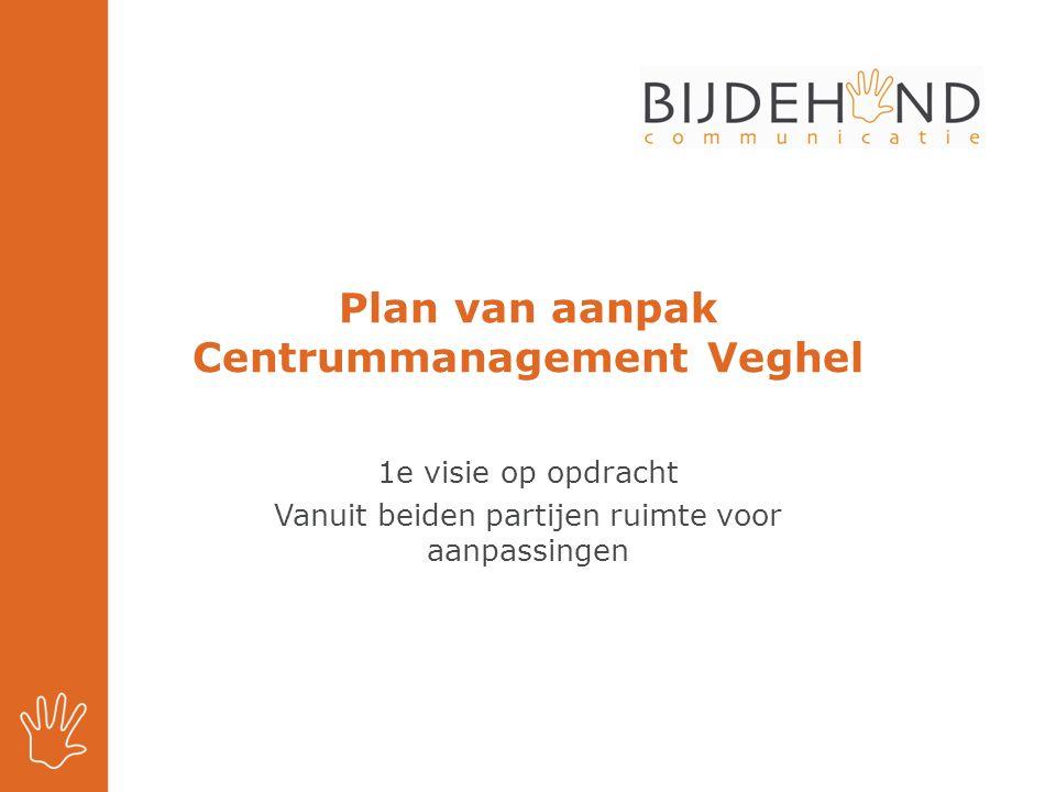 Plan van aanpak Centrummanagement Veghel
