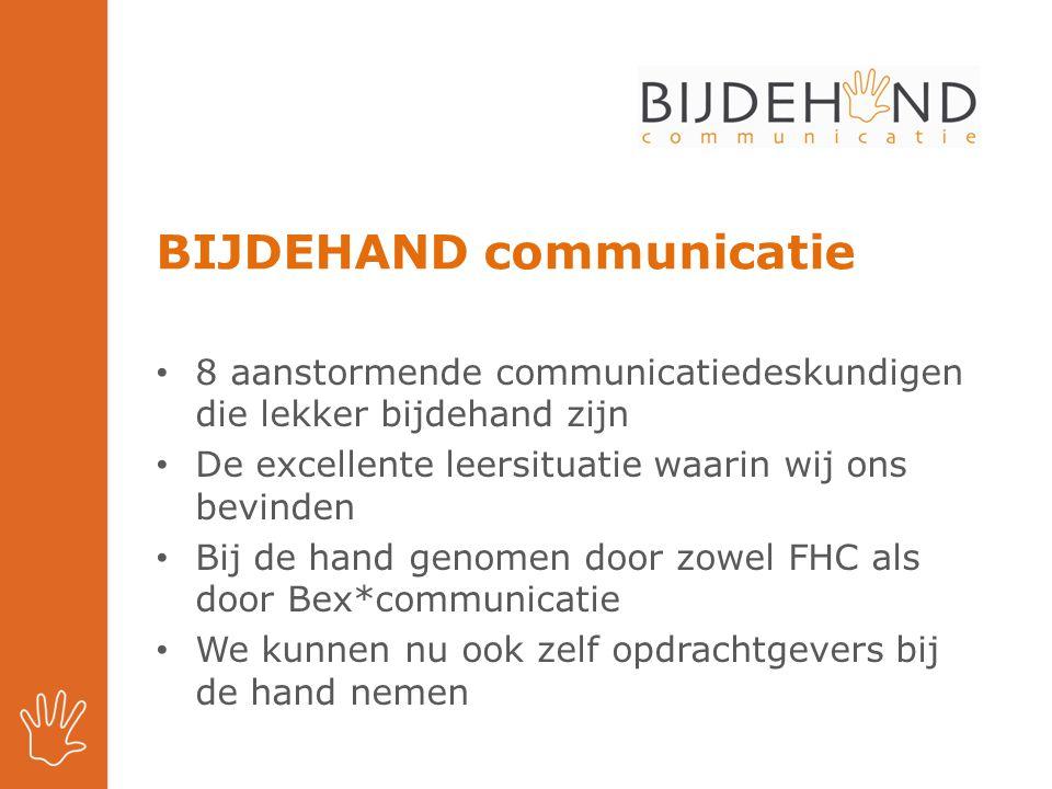 BIJDEHAND communicatie