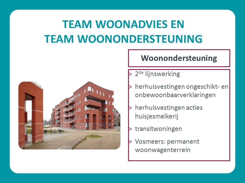 TEAM WOONADVIES EN TEAM WOONONDERSTEUNING
