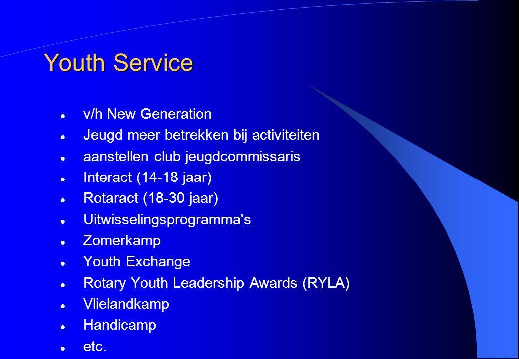 Youth Service v/h New Generation Jeugd meer betrekken bij activiteiten