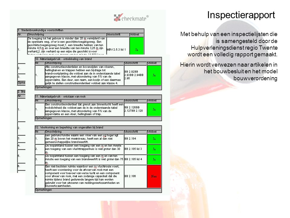 Inspectieopdracht: Cursus Inspectiefunctionaris
