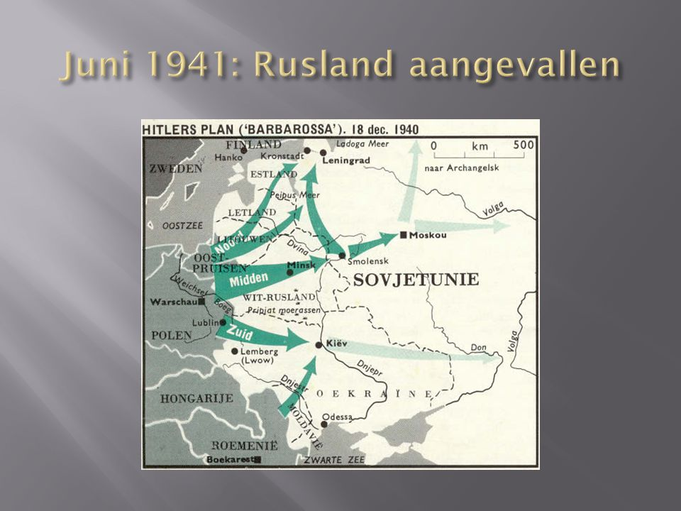 Juni 1941: Rusland aangevallen
