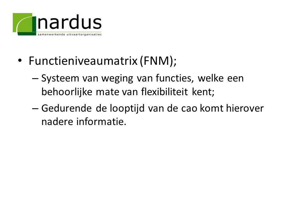 Functieniveaumatrix (FNM);