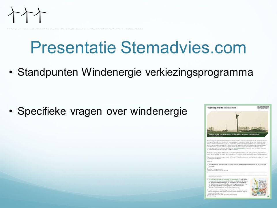 Presentatie Stemadvies.com