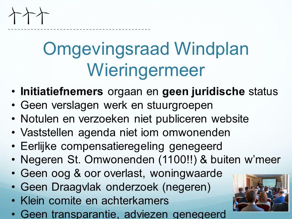 Omgevingsraad Windplan Wieringermeer
