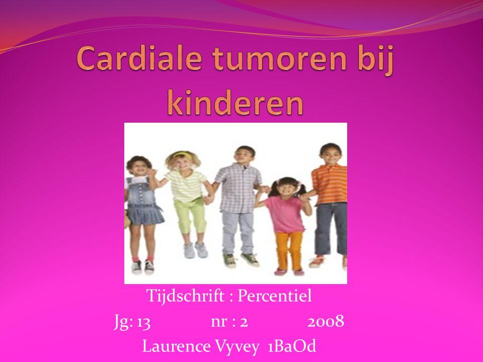 Cardiale tumoren bij kinderen