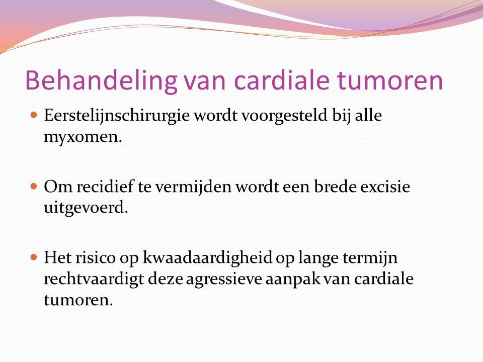 Behandeling van cardiale tumoren