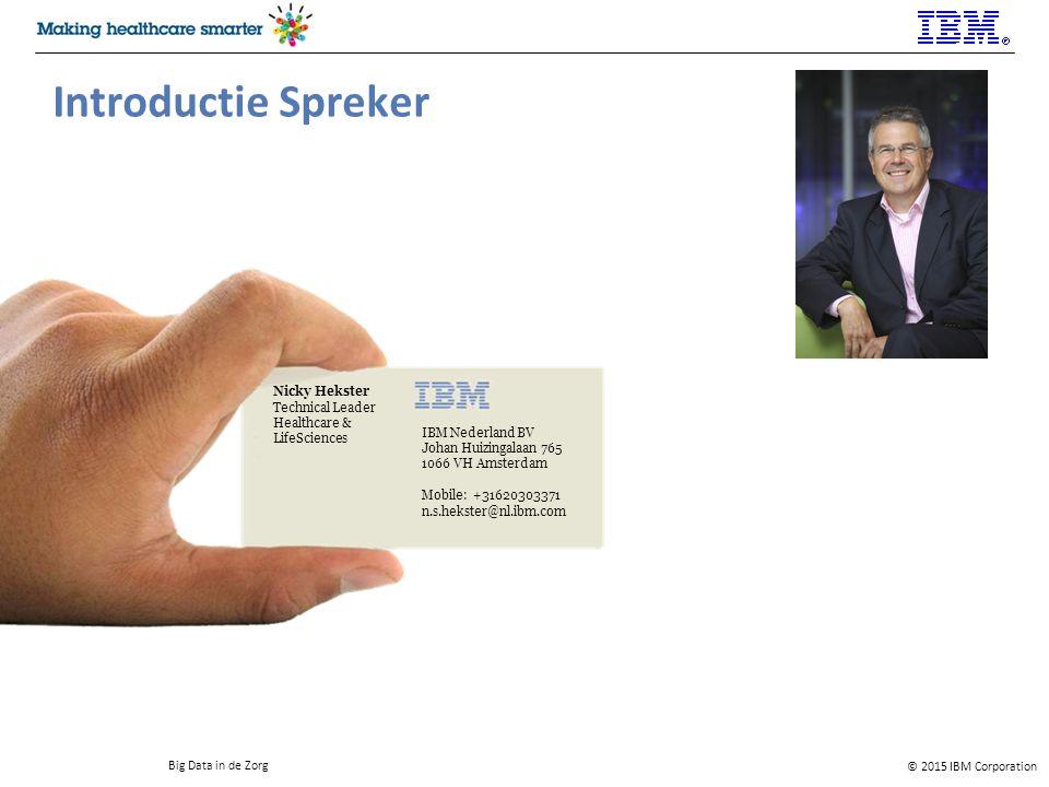 Introductie Spreker Nicky Hekster