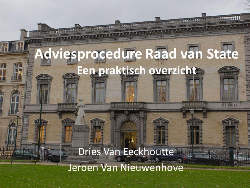 Adviesprocedure Raad van State Een praktisch overzicht