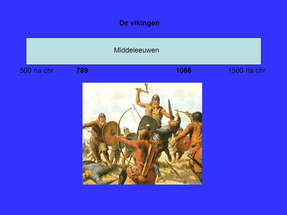De vikingen Middeleeuwen 500 na chr 789 1066 1500 na chr