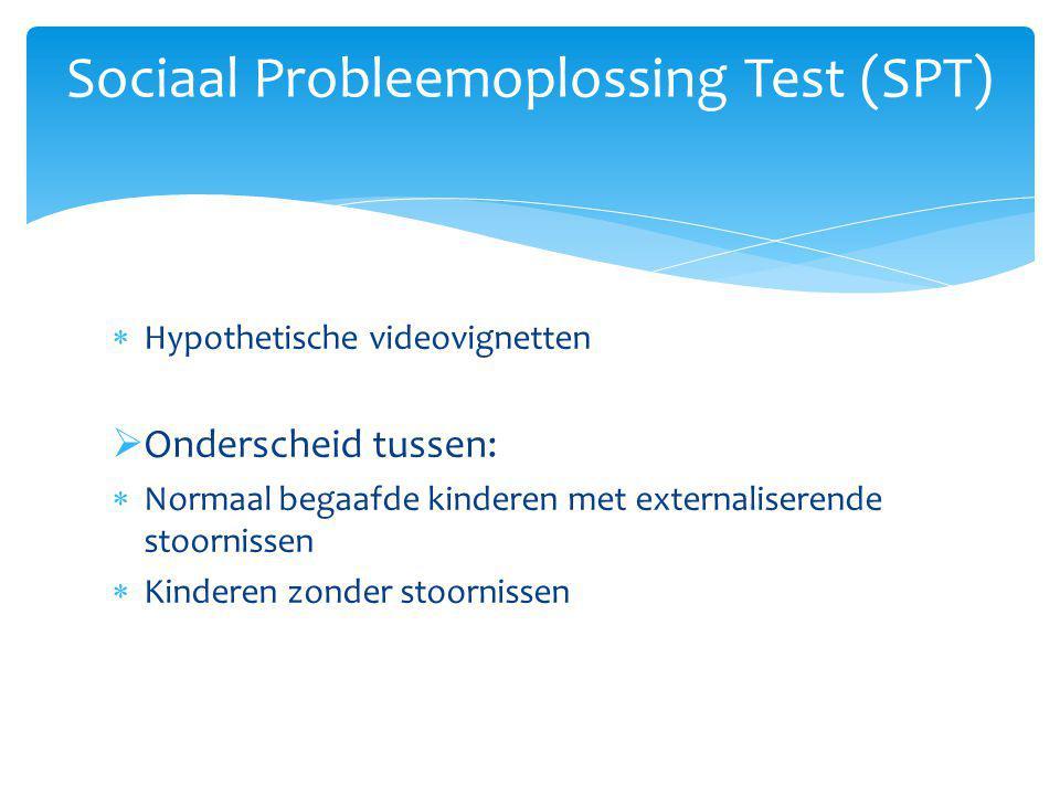 Sociaal Probleemoplossing Test (SPT)