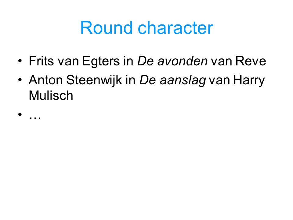 Round character Frits van Egters in De avonden van Reve