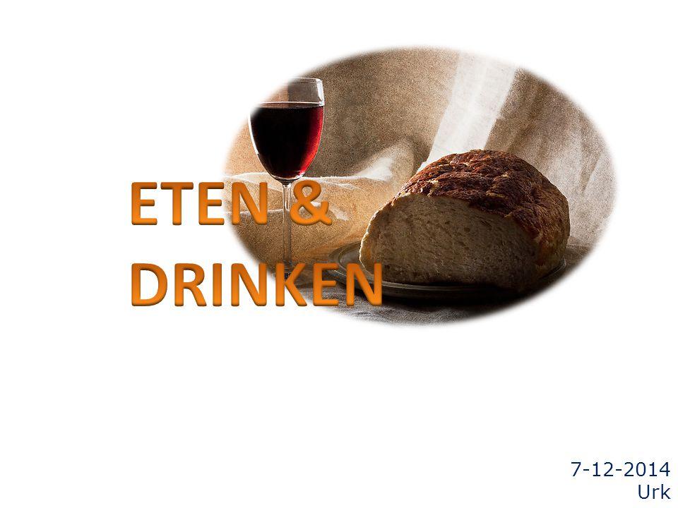 ETEN & DRINKEN 7-12-2014 Urk