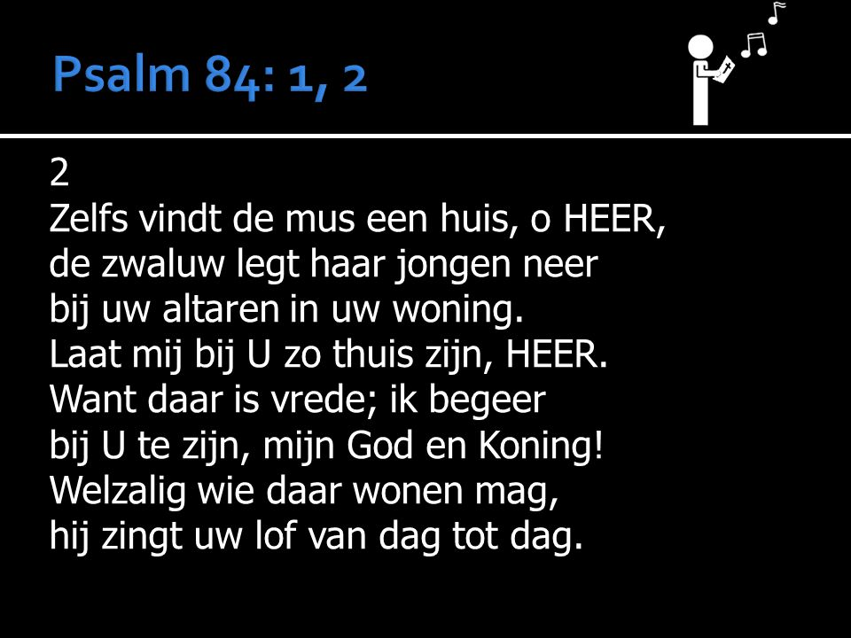 Psalm 84: 1, 2