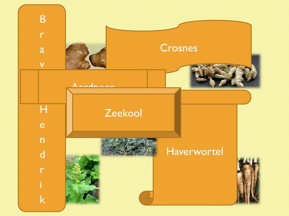 Brave Hendrik Crosnes Aardpeer Zeekool Haverwortel