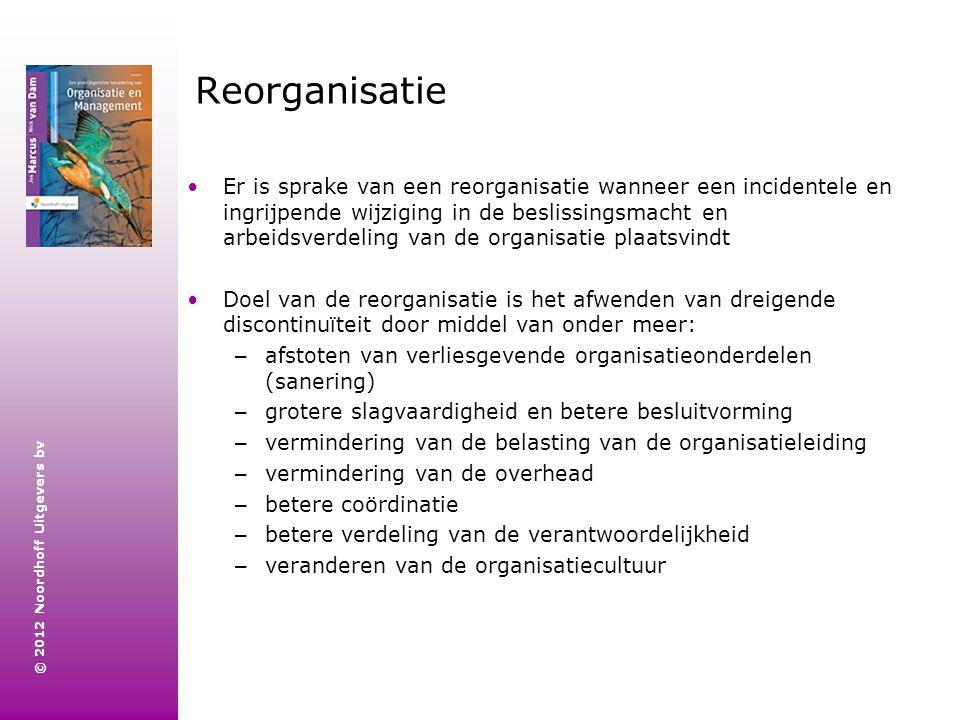 Reorganisatie