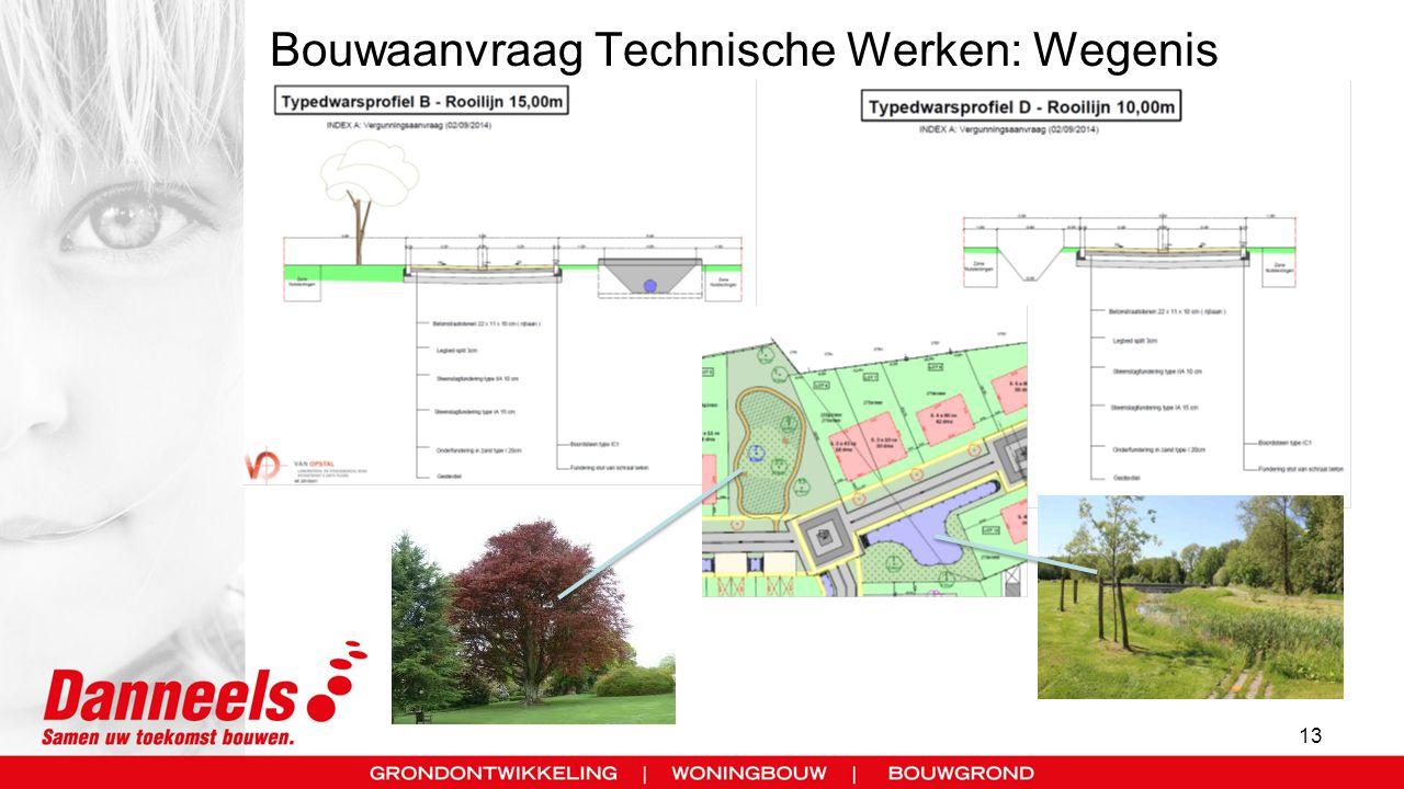 Bouwaanvraag Technische Werken: Wegenis