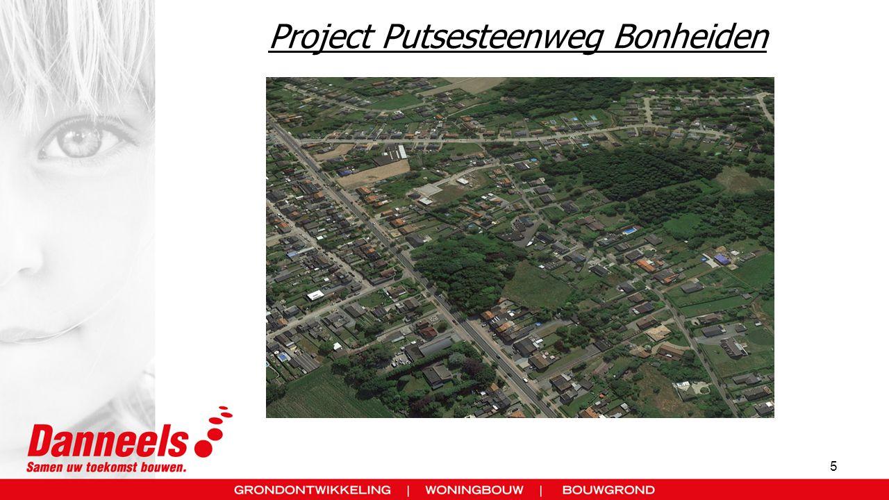 Project Putsesteenweg Bonheiden