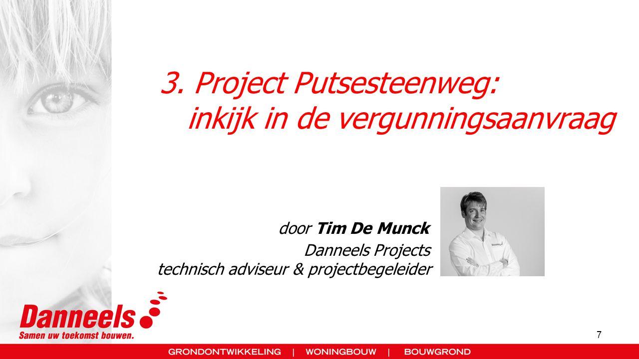 3. Project Putsesteenweg: inkijk in de vergunningsaanvraag