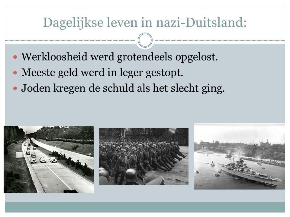 Dagelijkse leven in nazi-Duitsland: