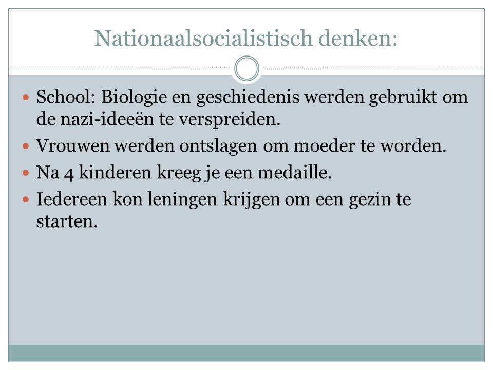 Nationaalsocialistisch denken:
