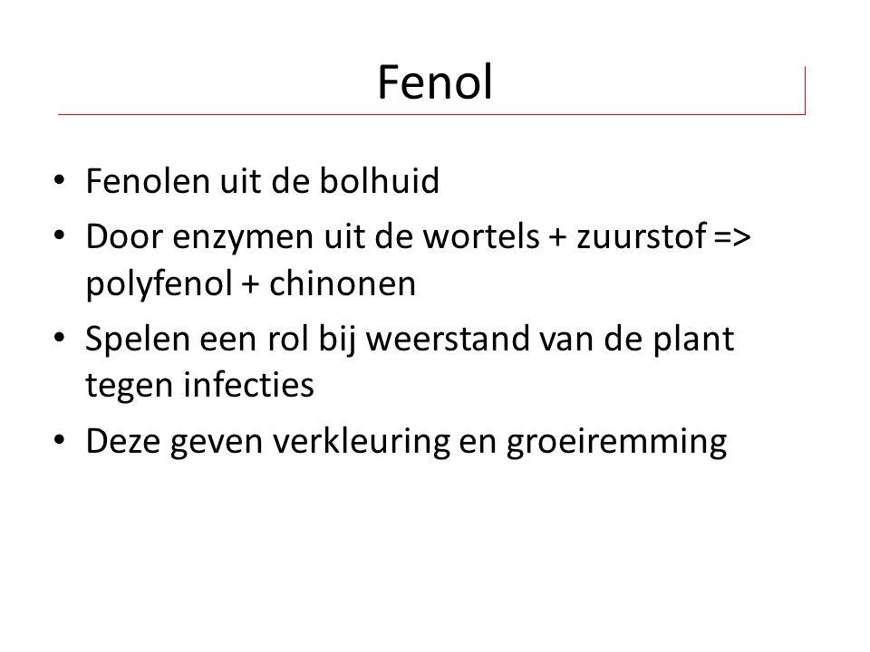 Fenol Fenolen uit de bolhuid