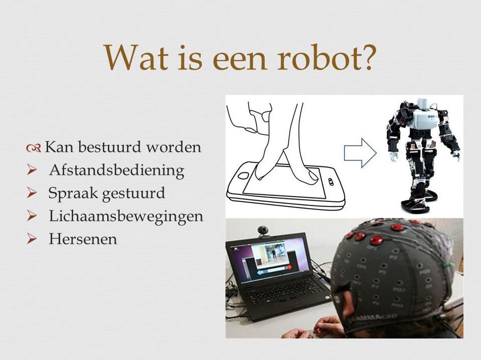 Wat is een robot Kan bestuurd worden Afstandsbediening
