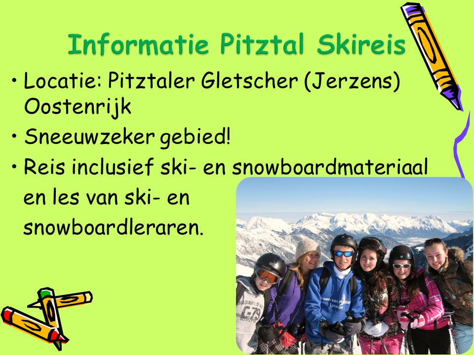 Informatie Pitztal Skireis