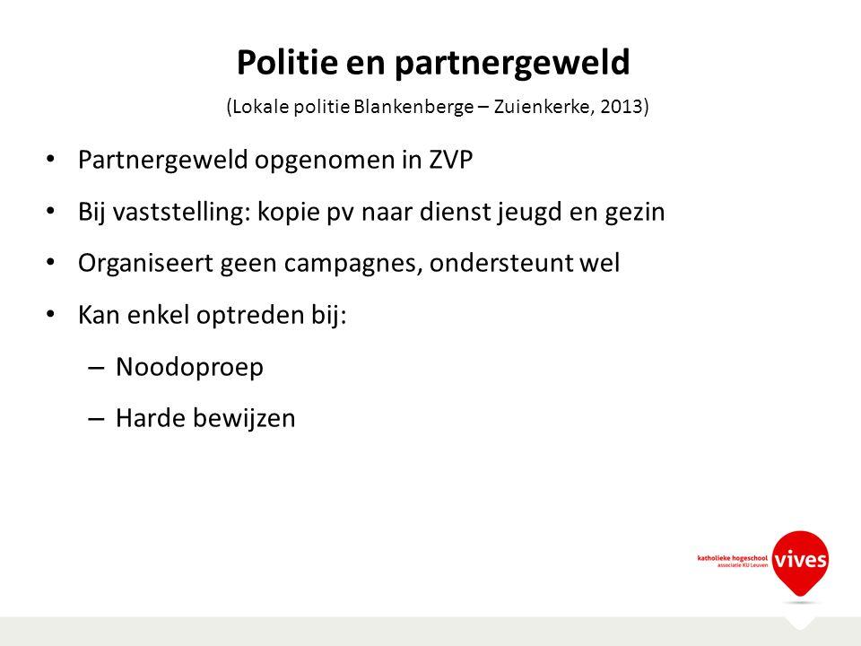 Politie en partnergeweld