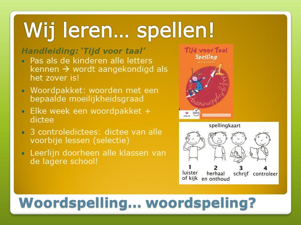 Woordspelling… woordspeling