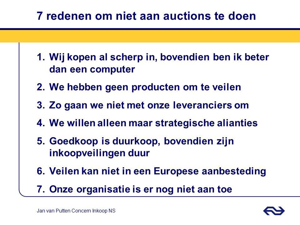 7 redenen om niet aan auctions te doen