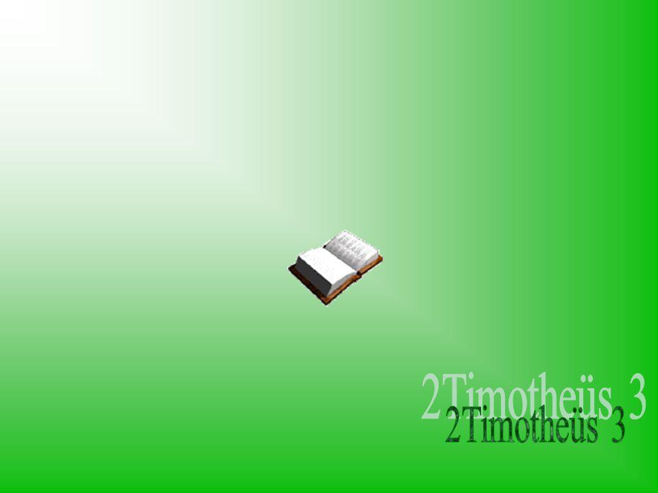 2Timotheüs 3