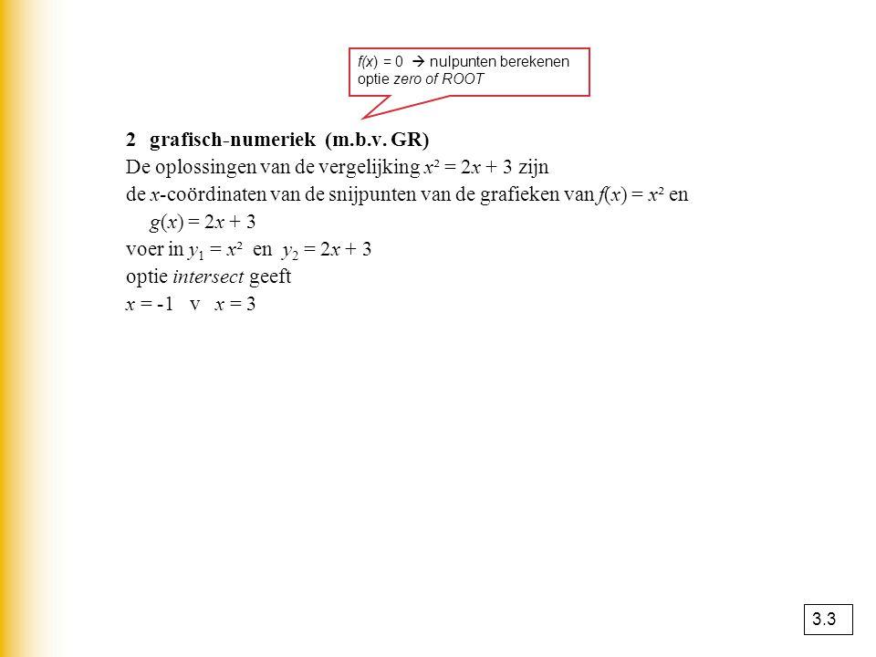 2 grafisch-numeriek (m.b.v. GR)