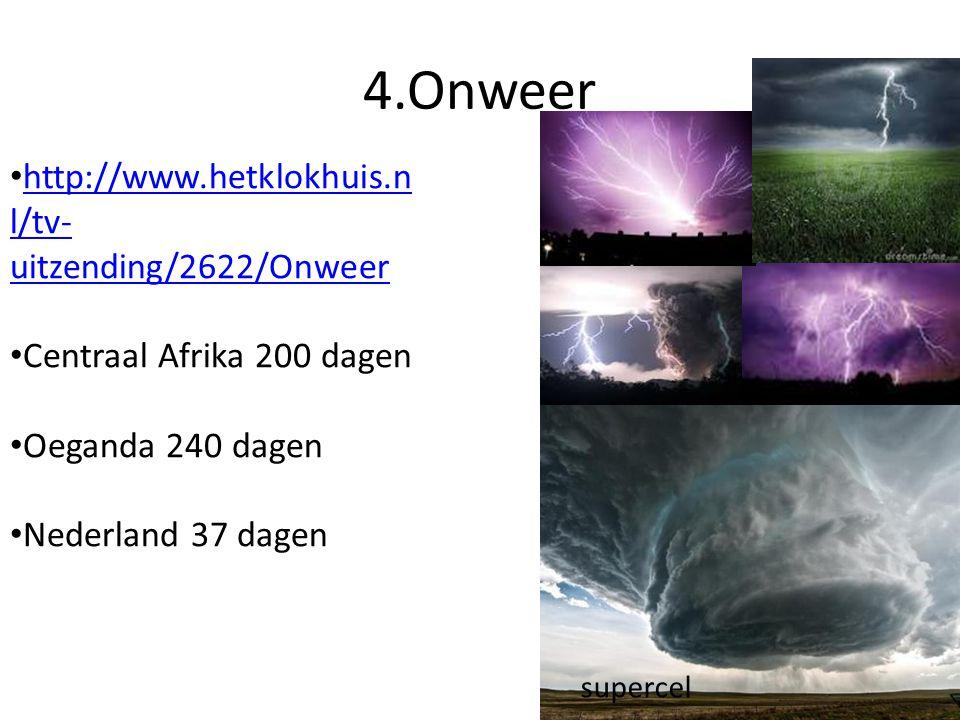 4.Onweer http://www.hetklokhuis.nl/tv-uitzending/2622/Onweer